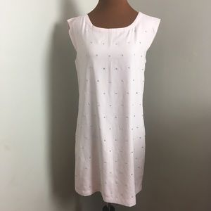 Express Dresses - Express pink shift dress with rhinestones
